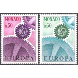 Monaco 1967. CEPT: Cogwheel...