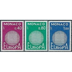 Monaco 1970. CEPT: Stylised...