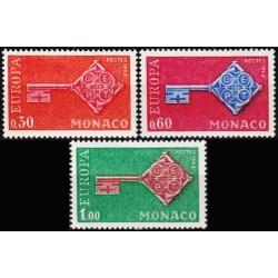 Monaco 1968. Key with CEPT...