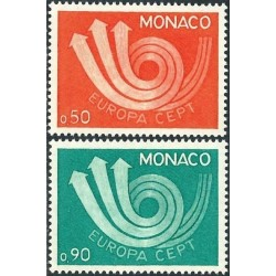 Monaco 1973. CEPT: Stylised...