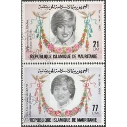 Mauritania 1982. Diana,...
