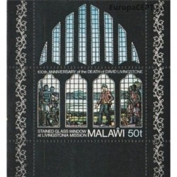 Malawi 1973. Stained glass...