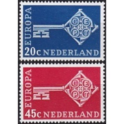 Netherlands 1968. Key with...