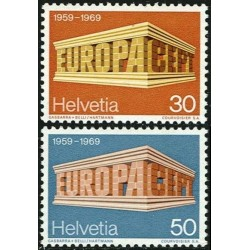 Switzerland 1969. EUROPA &...