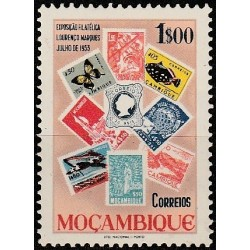 Mozambique 1953. Stamps on...