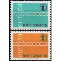 Turkey 1971. CEPT: Stylised...