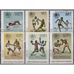 Mozambique 1984. Olympic...
