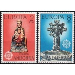 Andora (isp) 1974. Skulptūros