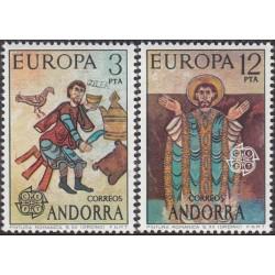 Andora (isp) 1975. Paveikslai