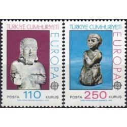 Turkija 1974. Skulptūros