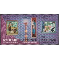 Kipras 1975. Paveikslai