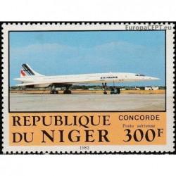 Niger 1983. Airplanes
