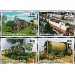 Niger 1998. Locomotives...