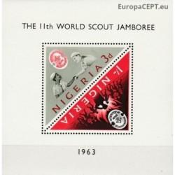 Nigeria 1963. Scout Movement