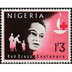 Nigeria 1963. Red Cross