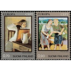 Finland 1975. Paintings