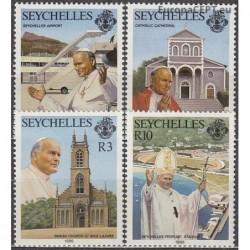 Seychelles 1986. Pope John...