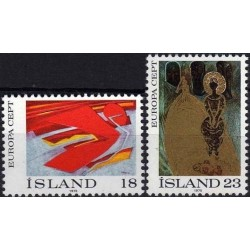 Iceland 1975. Paintings