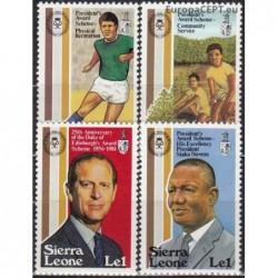 Sierra Leone 1981. Youth...
