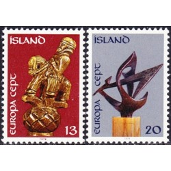 Iceland 1974. Sculptures