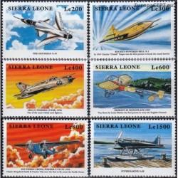 Sierra Leone 1999. Aircrafts