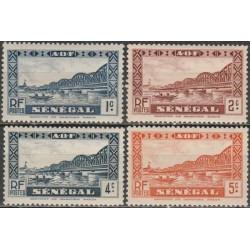 Senegalas 1935. Tiltai
