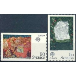 Sweden 1975. Paintings