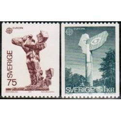 Sweden 1974. Sculptures