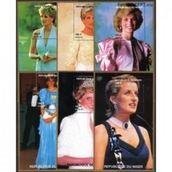 Niger 1998. Diana (Princess...