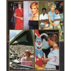 Nigeris 1998. Princesė Diana