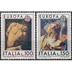 Italy 1975. Paintings