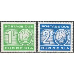 Rhodesia 1970. Postage...