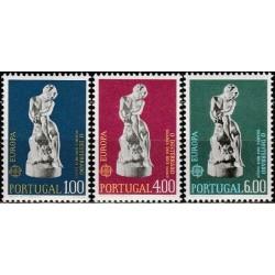 Portugalija 1974. Skulptūros