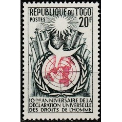 Togo 1958. Human rights