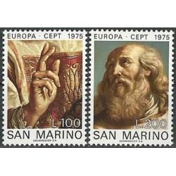 San Marino 1975. Paintings