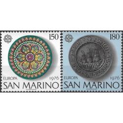 San Marino 1976. Artisanal...