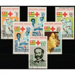 Togo 1966. Red Cross