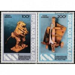 Togo 1981. Sculptures