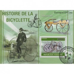 Togo 2010. History of bicycle