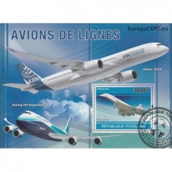 Togo 2010. Airplanes