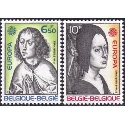 Belgium 1975. Paintings