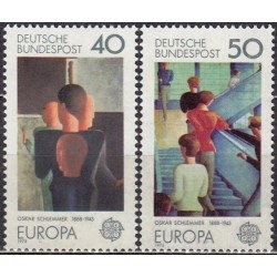 West Germany 1975. Paintings