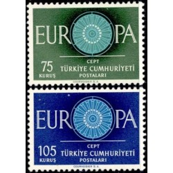 Turkija 1960. Stilizuotas...