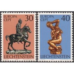 Liechtenstein 1974. Sculptures