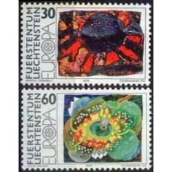 Liechtenstein 1975. Paintings
