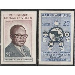 Upper Volta 1960. President...