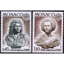 Monaco 1974. Sculptures