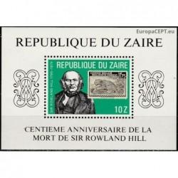 Zairas 1980. Rowland Hill