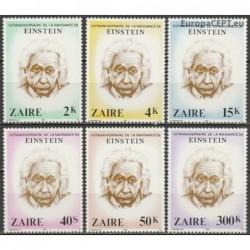 Zaire 1980. Albert Einstein