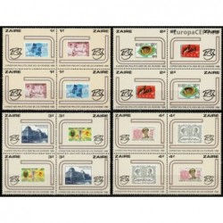 Zaire 1980. Stamps on stamps